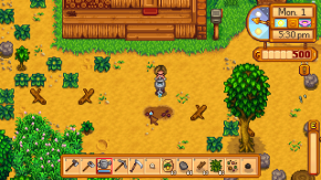 Is the protagonist of Stardew Valley suffering from chronic illness?