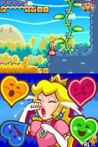 Princess Peach crying.